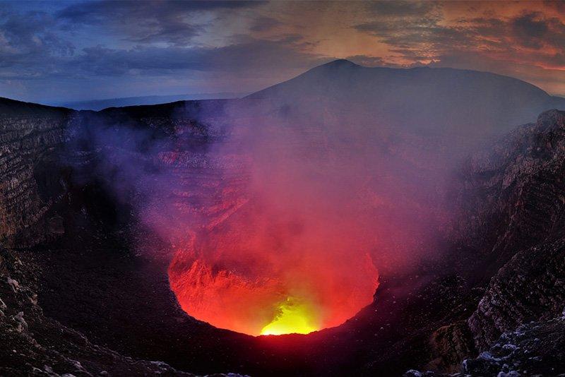 время кратер вулкана картинки стоит