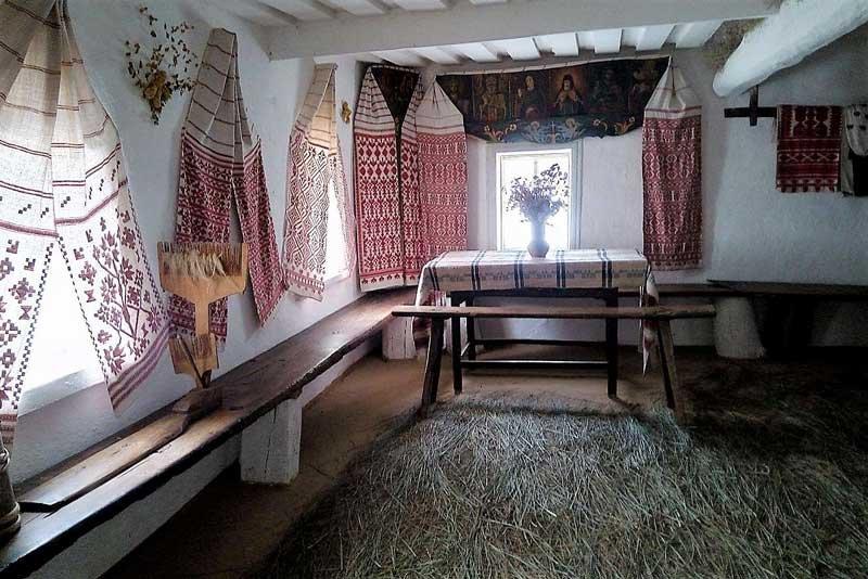 фото красивые русские хаты изнутри