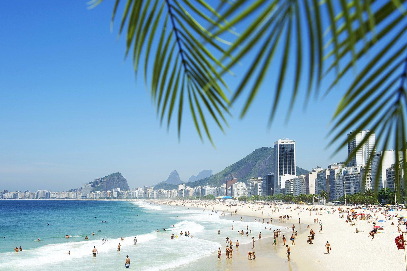 обои на рабочий стол рио де жанейро пляж копакабана выгодным условиям