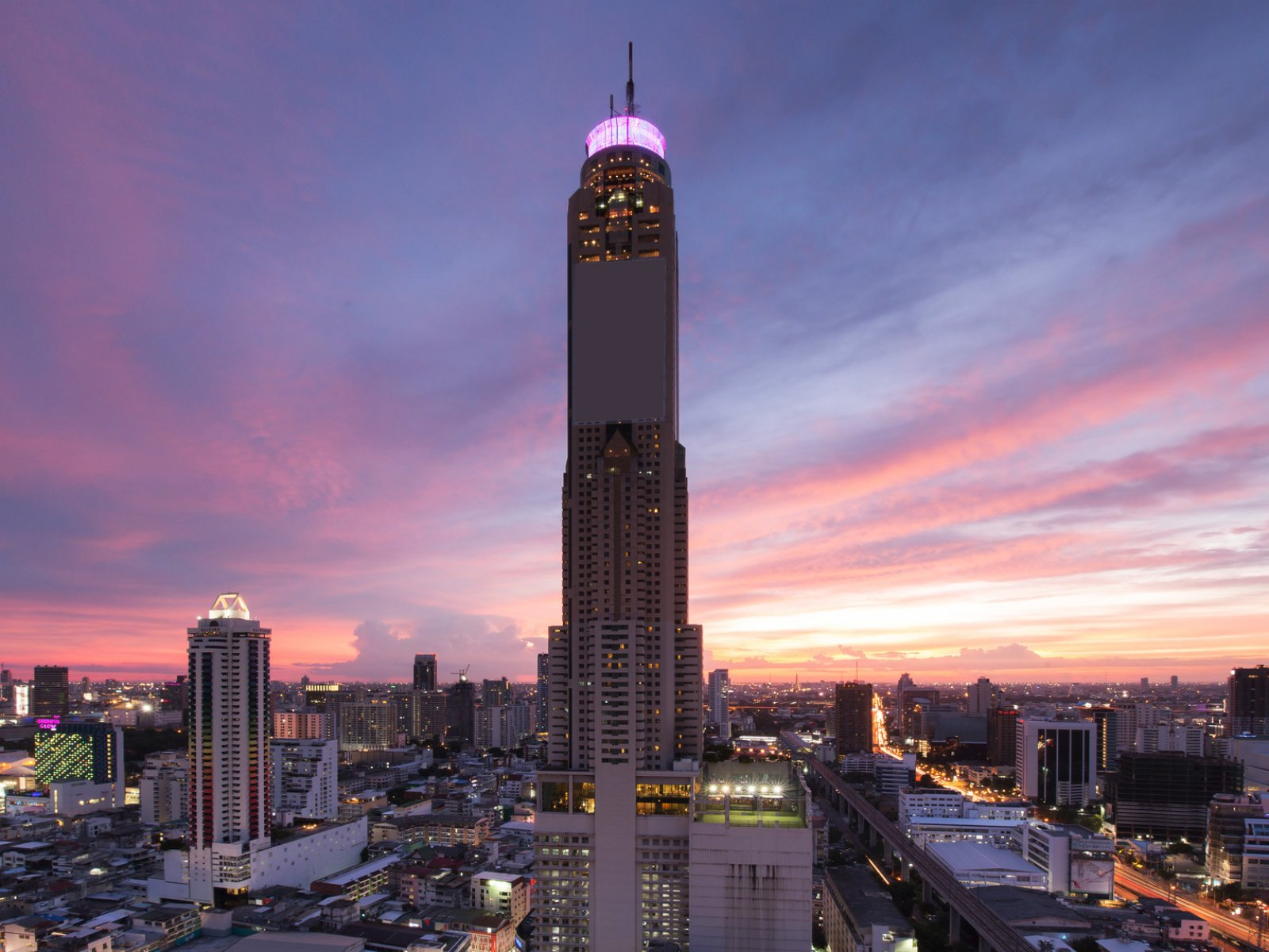 Baiyoke Sky Tower, Бангкок