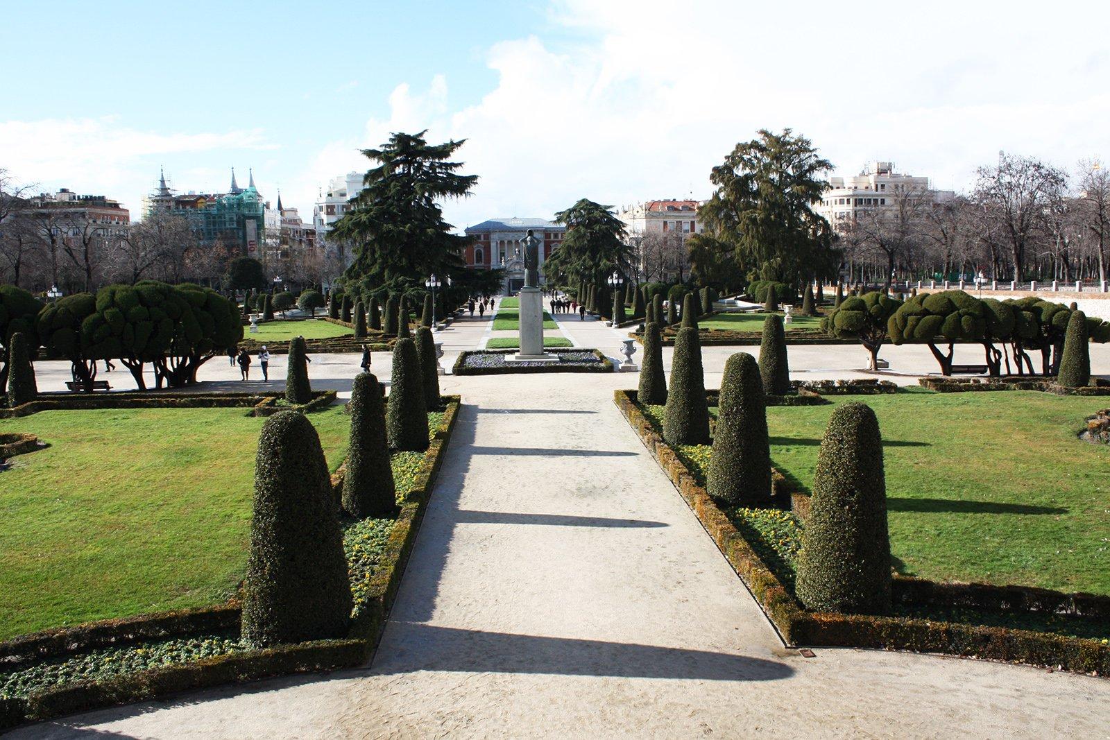 парк ретиро в мадриде фото вензеля золотых обоях