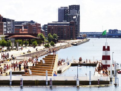 Водный комплекс Islands Brygge Harbour Bath